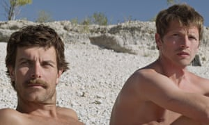 Free country? … Christophe Paou and Pierre Deladonchamps in Alain Guiraudie's Stranger by the Lake