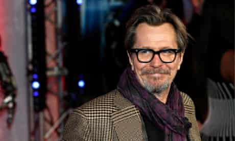 Gary Oldman – who has revealed a possible Star Wars: Episode VII role – at the RoboCop premiere in L