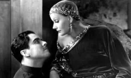 Ramon Navarro and Greta Garbo