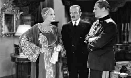 Greta Garbo, C Henry Gordon and Lionel Barrymore in Mata Hari