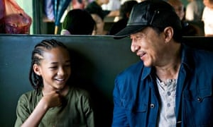 Jaden Smith and Jackie Chan in 2010's The Karate Kid