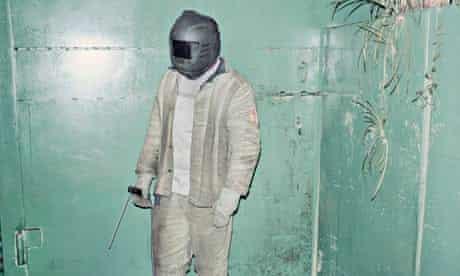 Sasha, Belarus's best welder