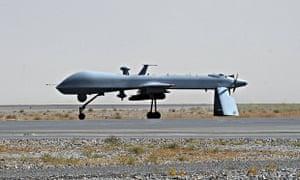 View to a kill … a US Predator drone.