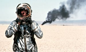 Sam Shepard as Chuck Yaeger in The Right Stuff