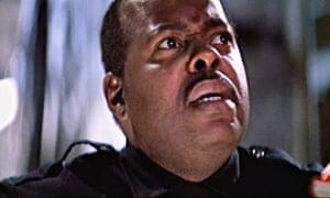 If the cop fits … Reginald Veljohnson as Sgt Al Powell in Die Hard.