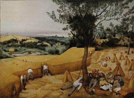 Pieter Bruegel the Elder's The Harvesters (1565).