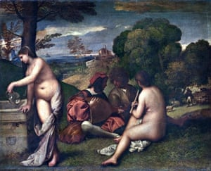 Titian's The Pastoral Concert (c1509).