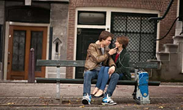 Much-loved … Ansel Elgort and Shailene Woodley in The Fault in Our Stars.