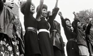 Black Panthers at a Free Huey Newton rally 1969