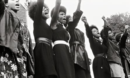 Black Panthers at a Free Huey Newton rally 1969