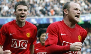 Wayne Rooney Michael Carrick