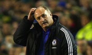 Chelsea Manager Luis Felipe Scolari