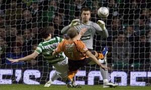 Celtic v Dundee United equaliser