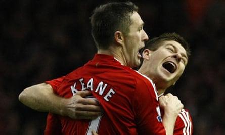 Robbie Keane and Steven Gerrard