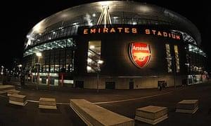 The Emirates Stadium, Arsenal