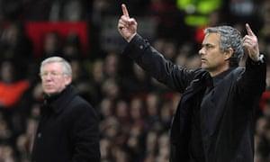 Ferguson, Mourinho