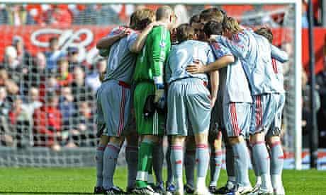 Liverpool huddle