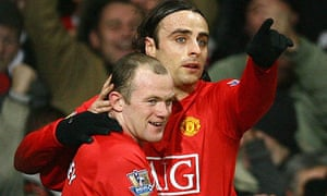 Wayne Rooney Dimitar Berbatov Manchester United football