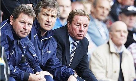 Harry Redknapp and Spurs v Newcastle