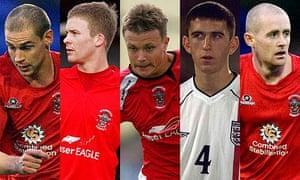 Robert Williams, Jay Harris, Andrew Mangan, David Mannix and Peter Cavanagh