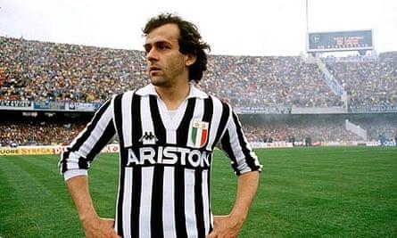 Juventus Michel Platini Napoli
