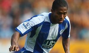Antonio Valencia of Wigan Athletic