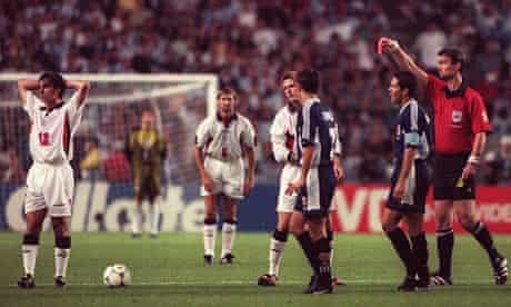 England v Argentina 1998