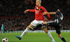 Gabriel Obertan, Manchester United v Besiktas