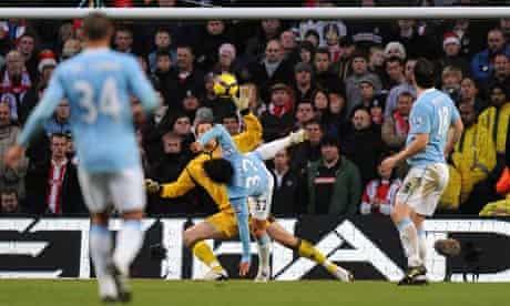 Carlos Tevez, Manchester City v Stoke