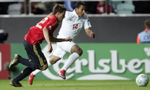 Theo Walcott came on as a substitue against Spain and set up England's second goal