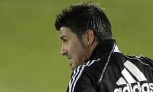 David Villa, currently playing in the Confederations Cup with Spain, looks to be staying at Valencia