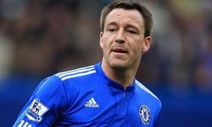 John Terry, the Chelsea captain