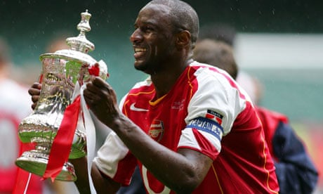 super popular e10bc 78be2 Patrick Vieira could return to Arsenal admits Arsène Wenger ...