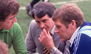Bobby Robson as Ipswich manager