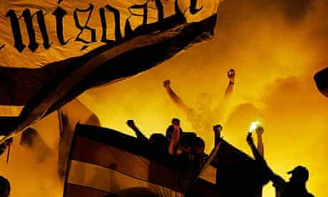 FC Timisoara supporters