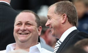 Barry Moat Mike Ashley