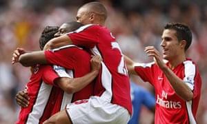 Diaby, Arsenal v Portsmouth