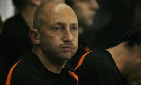 The Blackpool manager Ian Holloway