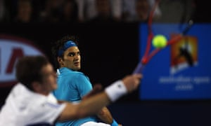 Roger Federer proved just too good for Andy Murray