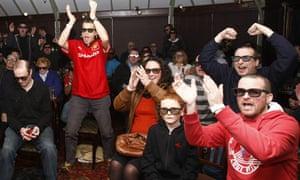Arsenal v Manchester United, 3D