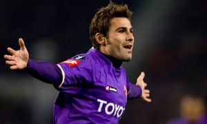 Fiorentina forward Adrian Mutu is set to return from his doping ban to face Catania