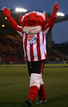 Poacher the Imp, Lincoln City's mascot