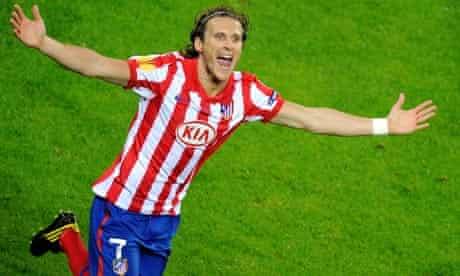 Atlético Madrid's Diego Forlán. Coming to a Premier League near you?