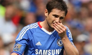 Frank Lampard's absence through injury comes when Chelsea's midfield is depleted by Essien's ban