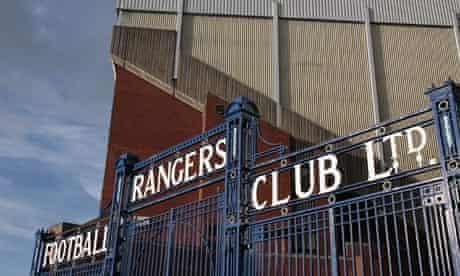Glasgow Rangers Ibrox