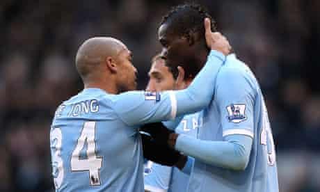 Mario Balotelli, West Bromwich Albion v Manchester City