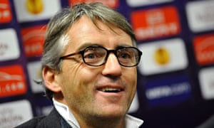 Manchester City's manager Roberto Mancini will talk to Carlos Tevez on Friday