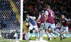 Ryan Nelsen Blackburn Rovers West Ham