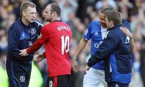 Jack Rodwell, Everton v Manchester United