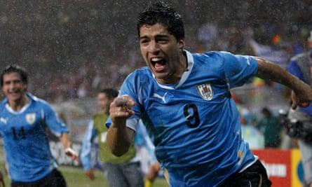 Luis Suarez, Uruguay v South Korea